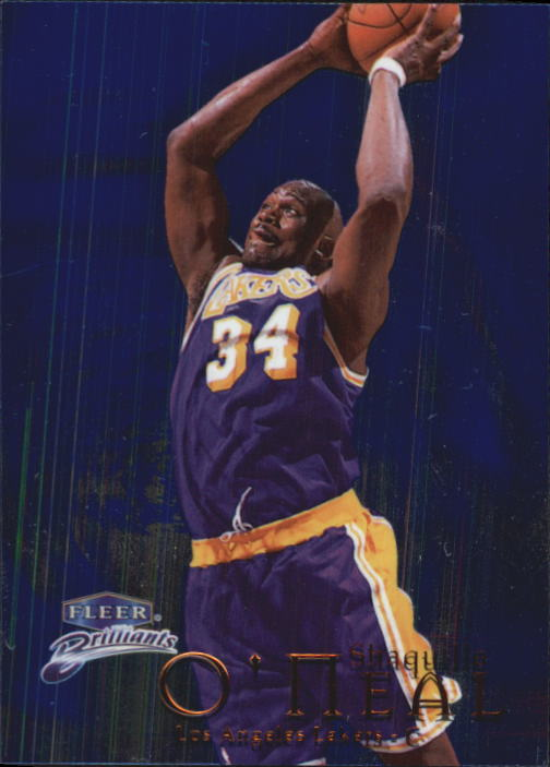 1998-99 Fleer Brilliants #100 Shaquille O'Neal
