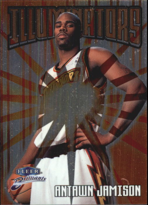 1998-99 Fleer Brilliants Illuminators #3 Antawn Jamison