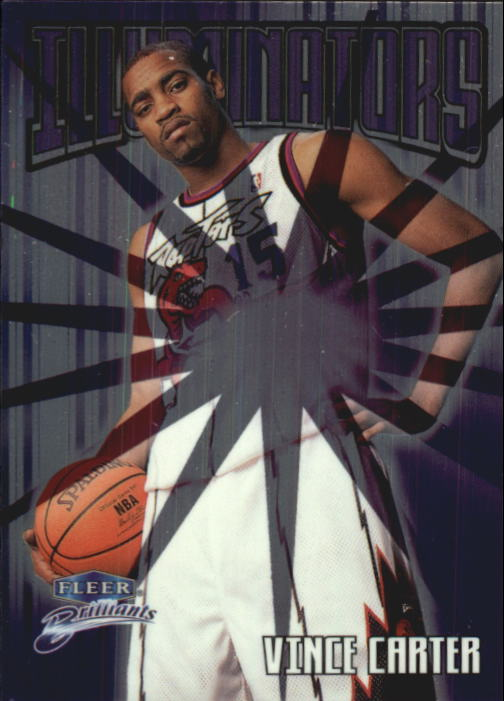 1998-99 Fleer Brilliants Illuminators #4 Vince Carter