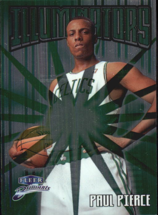 1998-99 Fleer Brilliants Illuminators #7 Paul Pierce front image