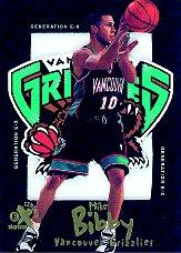 1998-99 E-X Century Generation E-X #8 Mike Bibby front image
