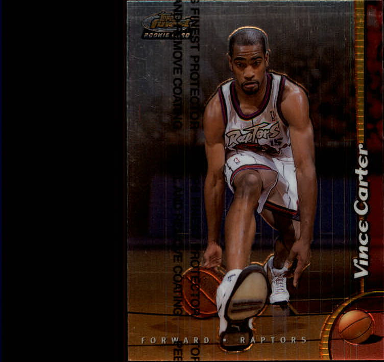1998-99 Finest #230 Vince Carter RC
