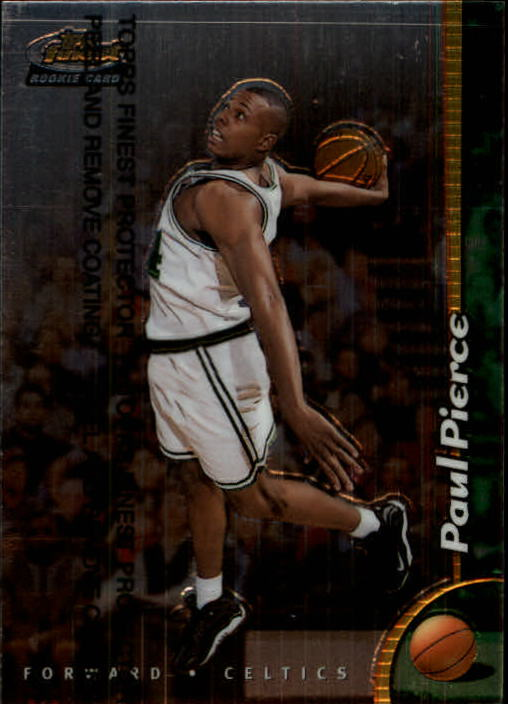 1998-99 Finest #235 Paul Pierce RC