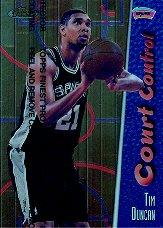 1998-99 Finest Court Control #CC3 Tim Duncan