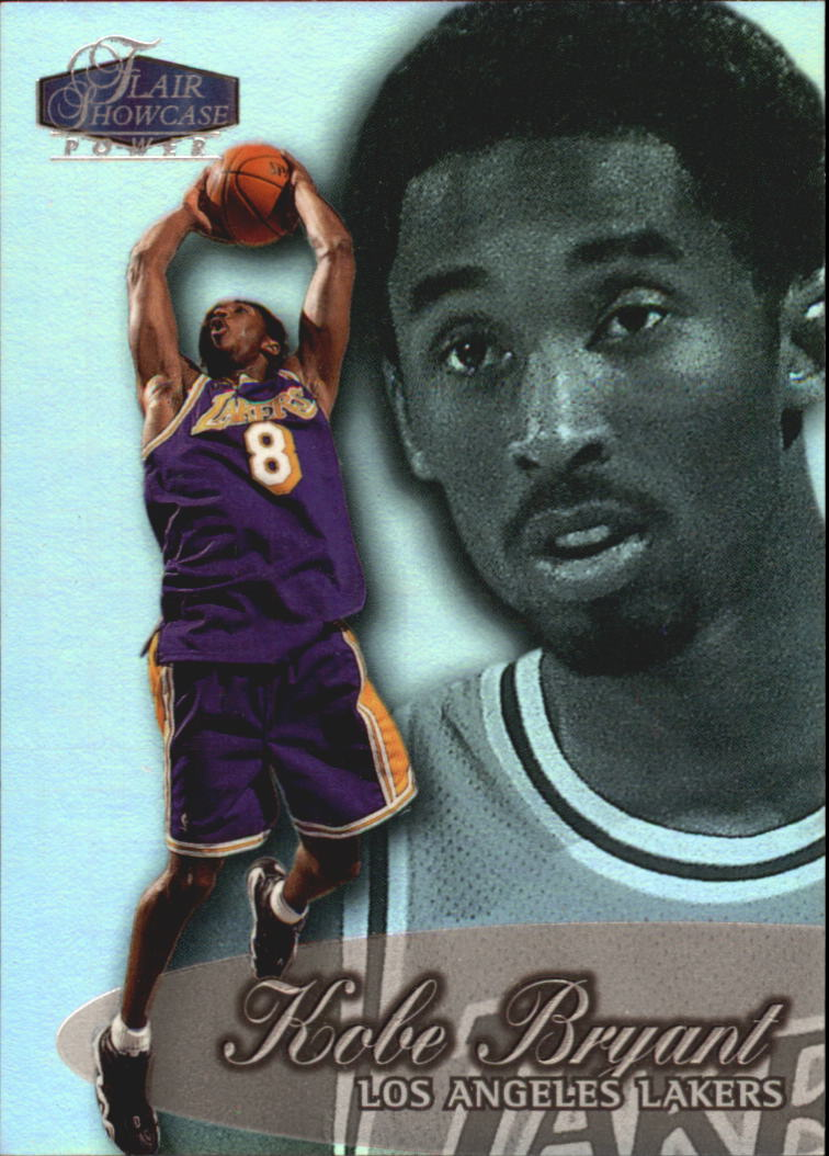 1998-99 Flair Showcase Row 3 #2 Kobe Bryant