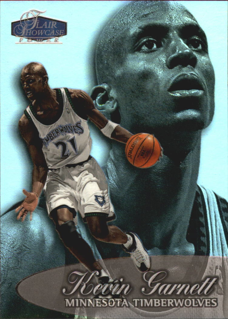 1998-99 Flair Showcase Row 3 #4 Kevin Garnett