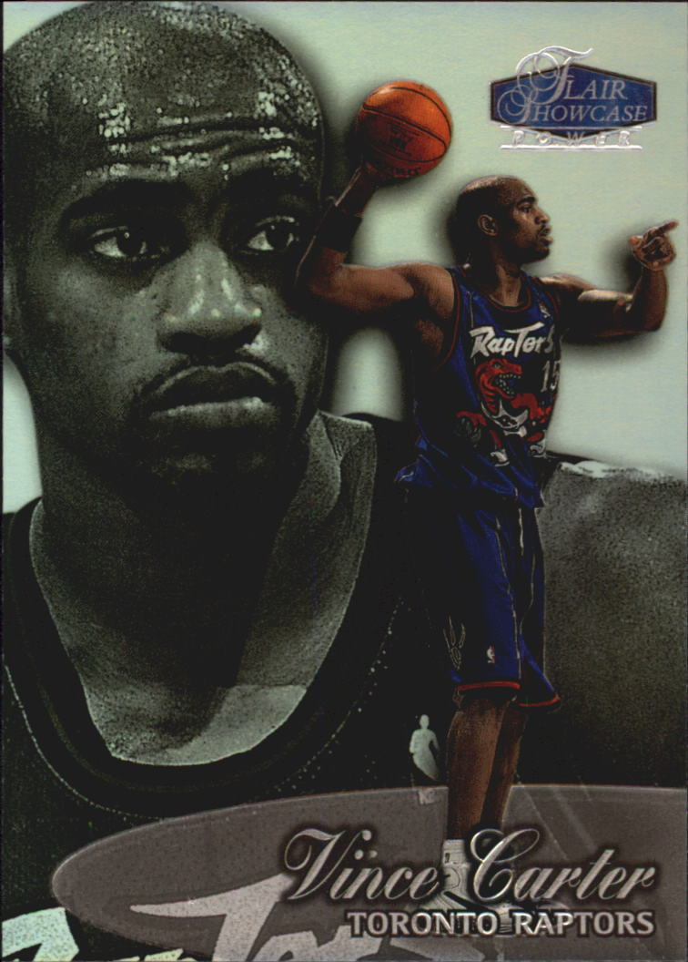 1998-99 Flair Showcase Row 3 #25 Vince Carter RC