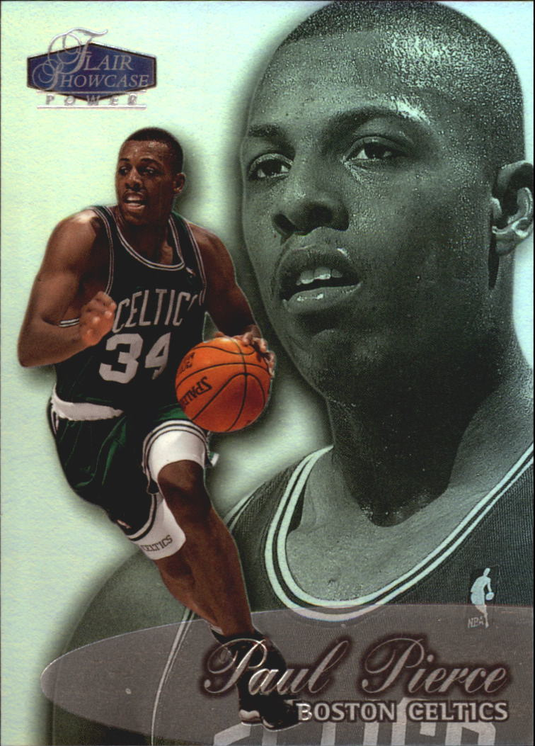 1998-99 Flair Showcase Row 3 #29 Paul Pierce RC