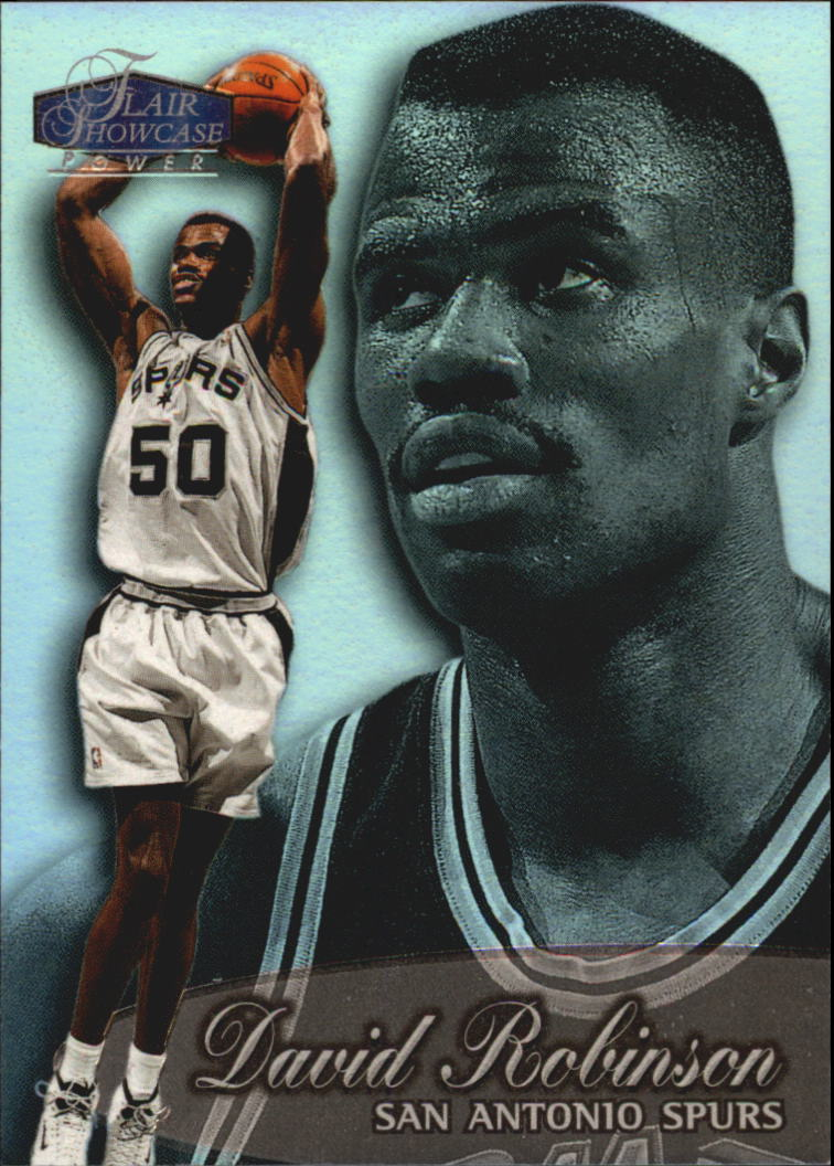 1998-99 Flair Showcase Row 3 #38 David Robinson