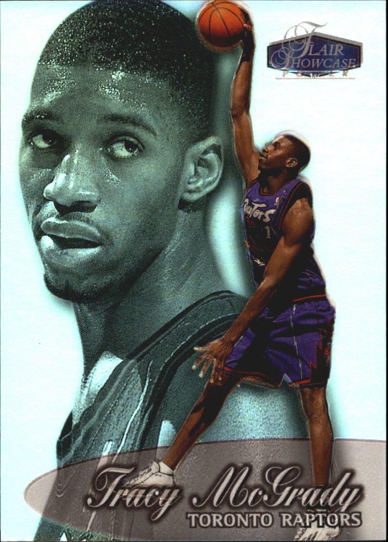 1998-99 Flair Showcase Row 3 #56 Tracy McGrady
