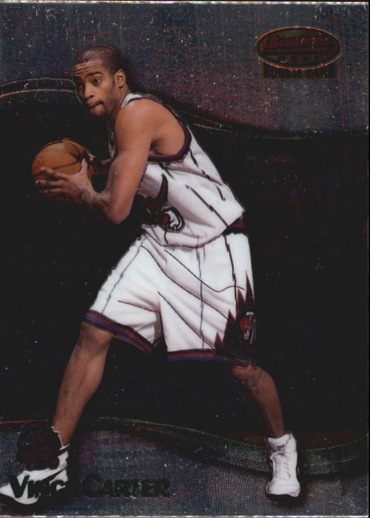 1998-99 Bowman's Best #105 Vince Carter RC