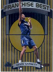 1998-99 Bowman's Best Franchise Best #FB5 Kevin Garnett