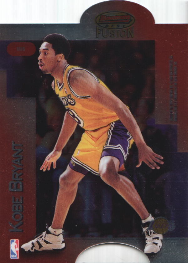 1998-99 Bowman's Best Mirror Image #MI6 Eddie Jones/Kobe Bryant