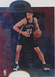 1998-99 Bowman's Best Mirror Image #MI16 Karl Malone/Tim Duncan
