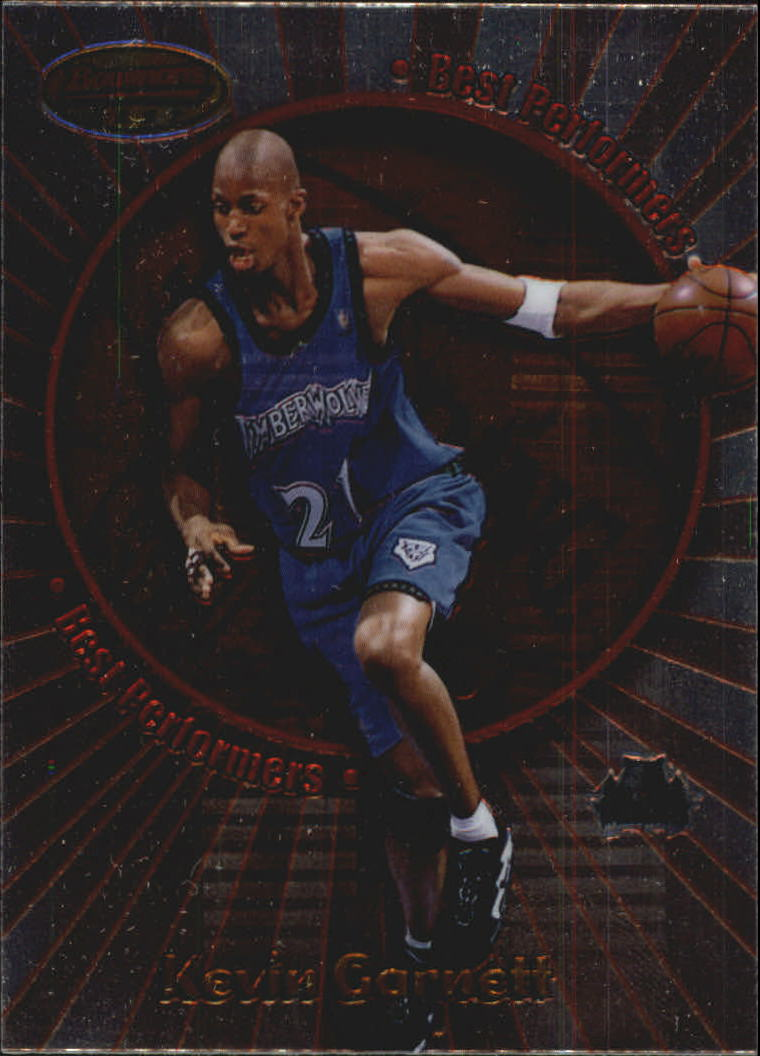 1998-99 Bowman's Best Performers #BP2 Kevin Garnett