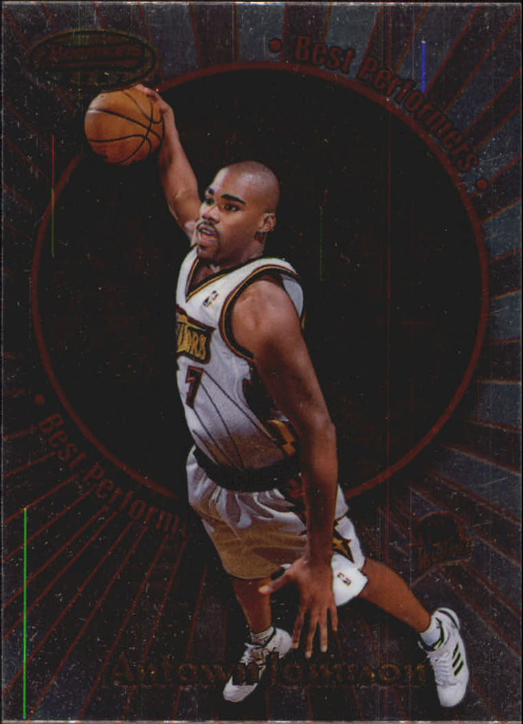 1998-99 Bowman's Best Performers #BP6 Antawn Jamison