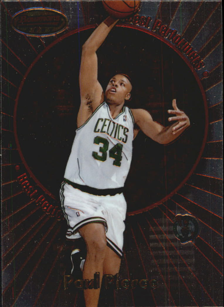 1998-99 Bowman's Best Performers #BP9 Paul Pierce