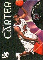 1998-99 E-X Century #89 Vince Carter RC