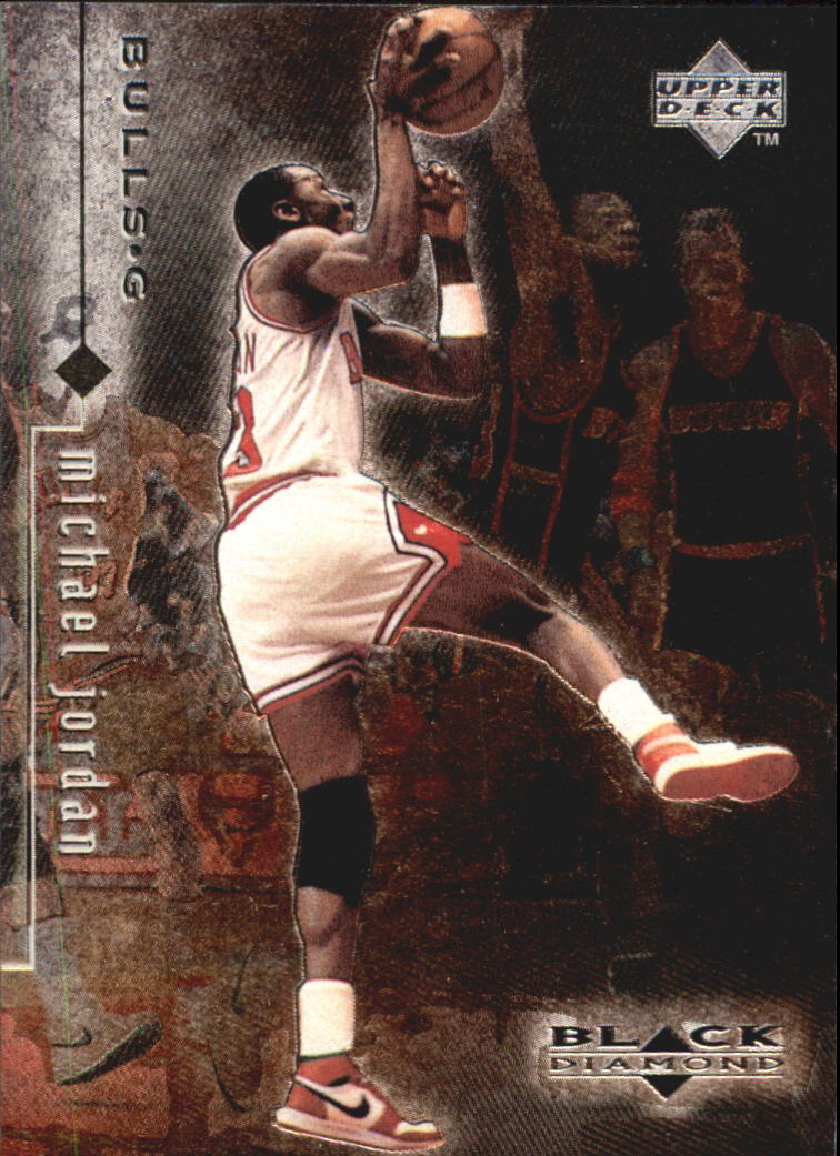 1998-99 Black Diamond #1 Michael Jordan