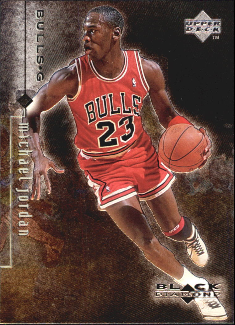 1998-99 Black Diamond #3 Michael Jordan
