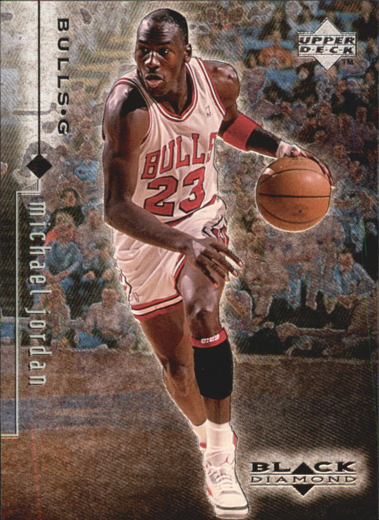 1998-99 Black Diamond #4 Michael Jordan