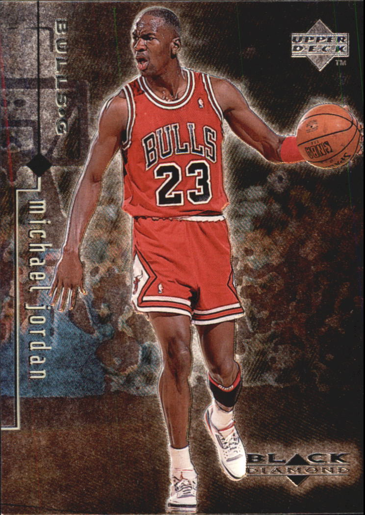 1998-99 Black Diamond #5 Michael Jordan