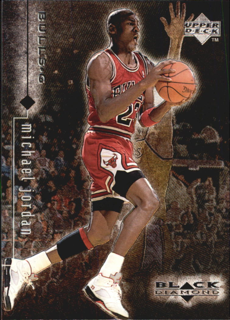 1998-99 Black Diamond #6 Michael Jordan