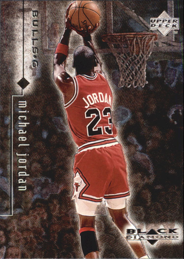 1998-99 Black Diamond #7 Michael Jordan