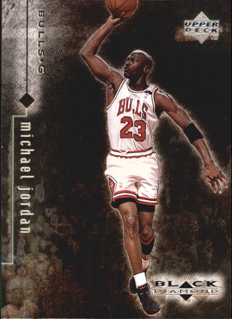 1998-99 Black Diamond #8 Michael Jordan