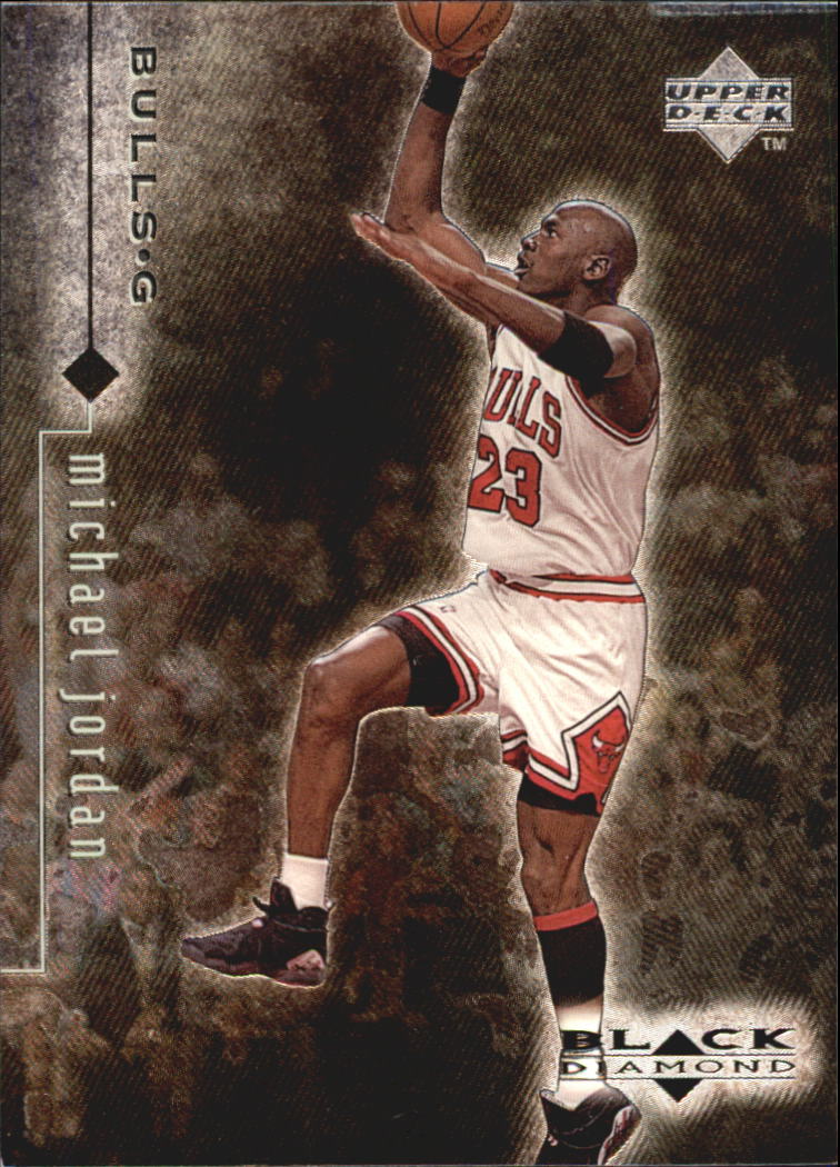 1998-99 Black Diamond #9 Michael Jordan