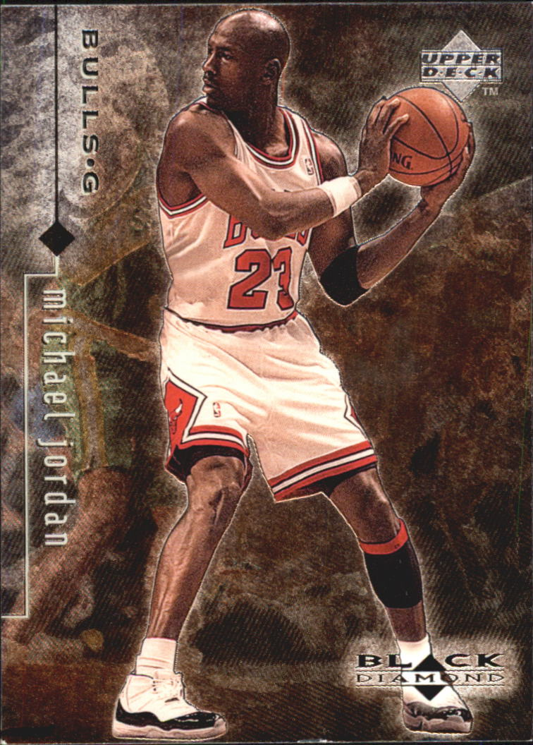 1998-99 Black Diamond #10 Michael Jordan