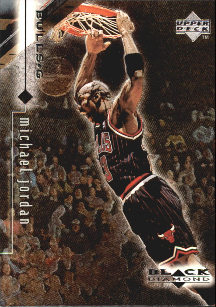 1998-99 Black Diamond #11 Michael Jordan