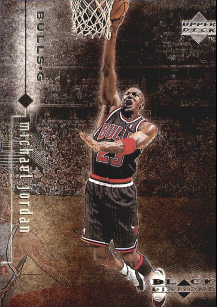 1998-99 Black Diamond #12 Michael Jordan