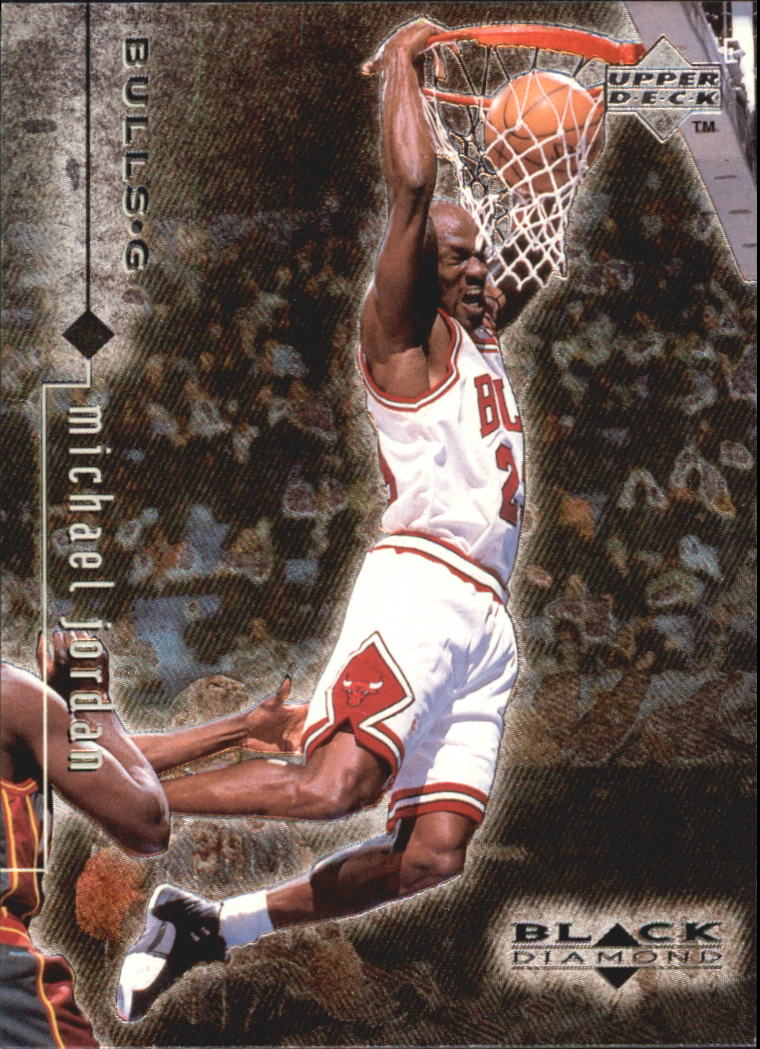 1998-99 Black Diamond #13 Michael Jordan