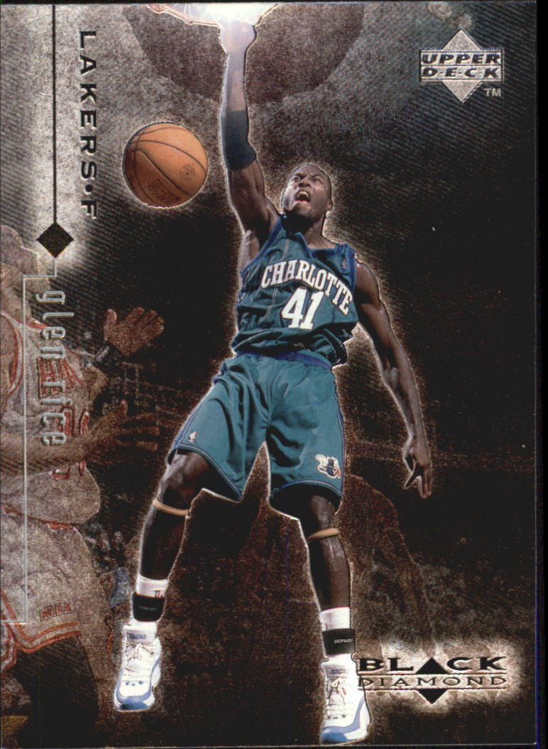 1998-99 Black Diamond #20 Glen Rice