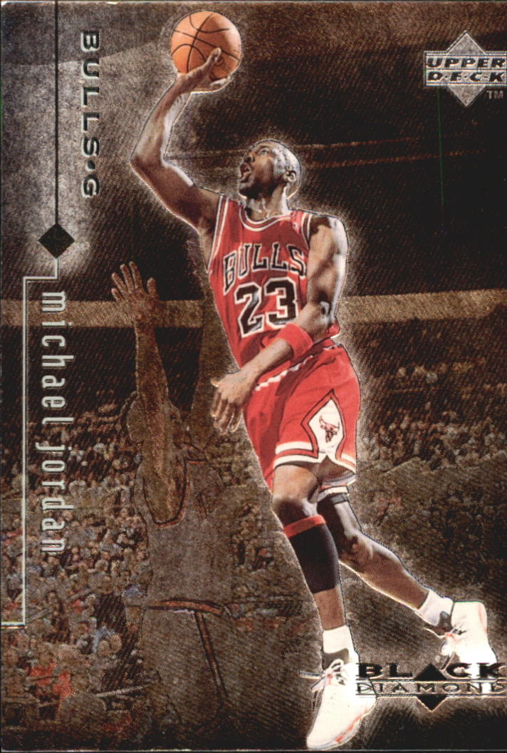 1998-99 Black Diamond #22 Michael Jordan