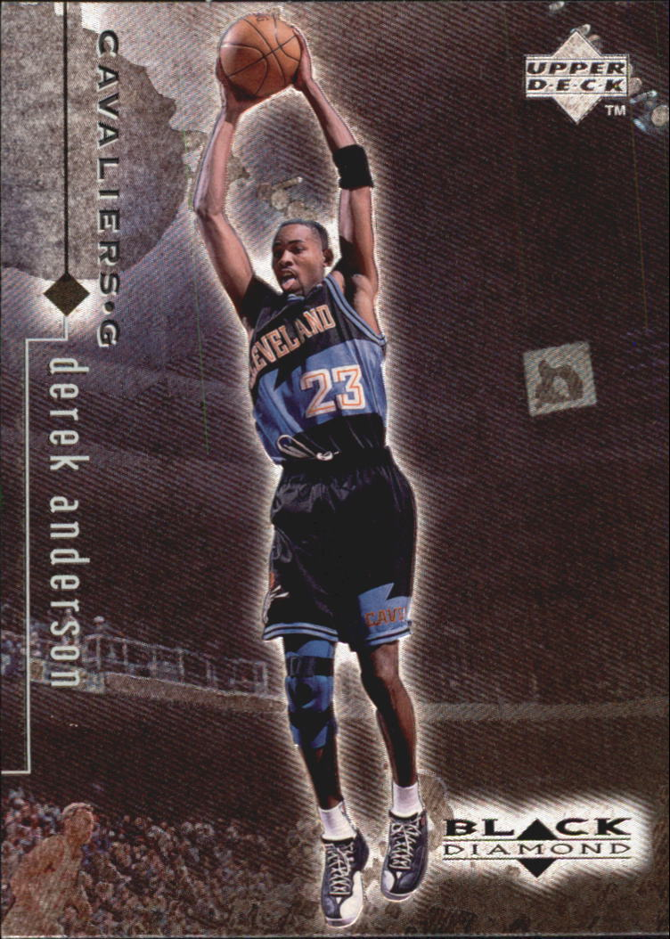 1998-99 Black Diamond #26 Derek Anderson