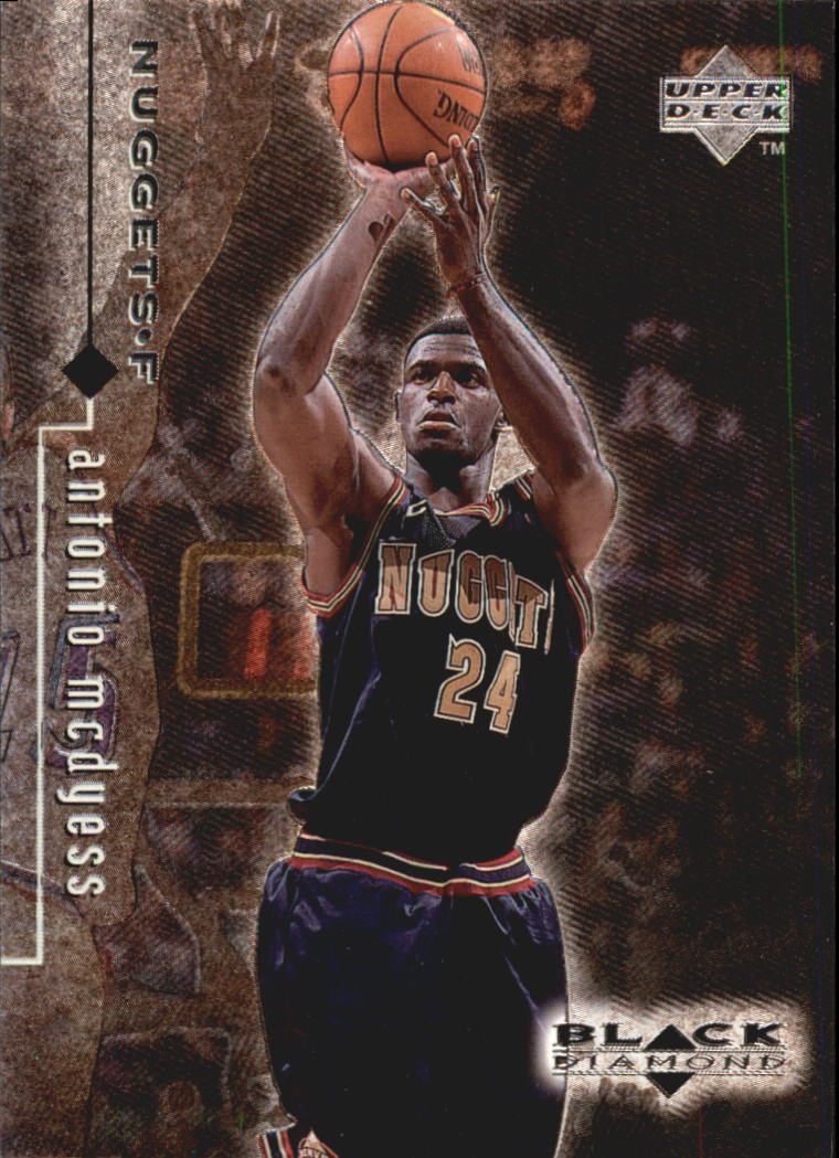 1998-99 Black Diamond #32 Antonio McDyess