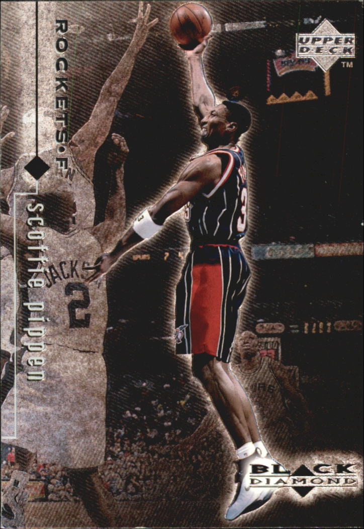 1998-99 Black Diamond #38 Scottie Pippen