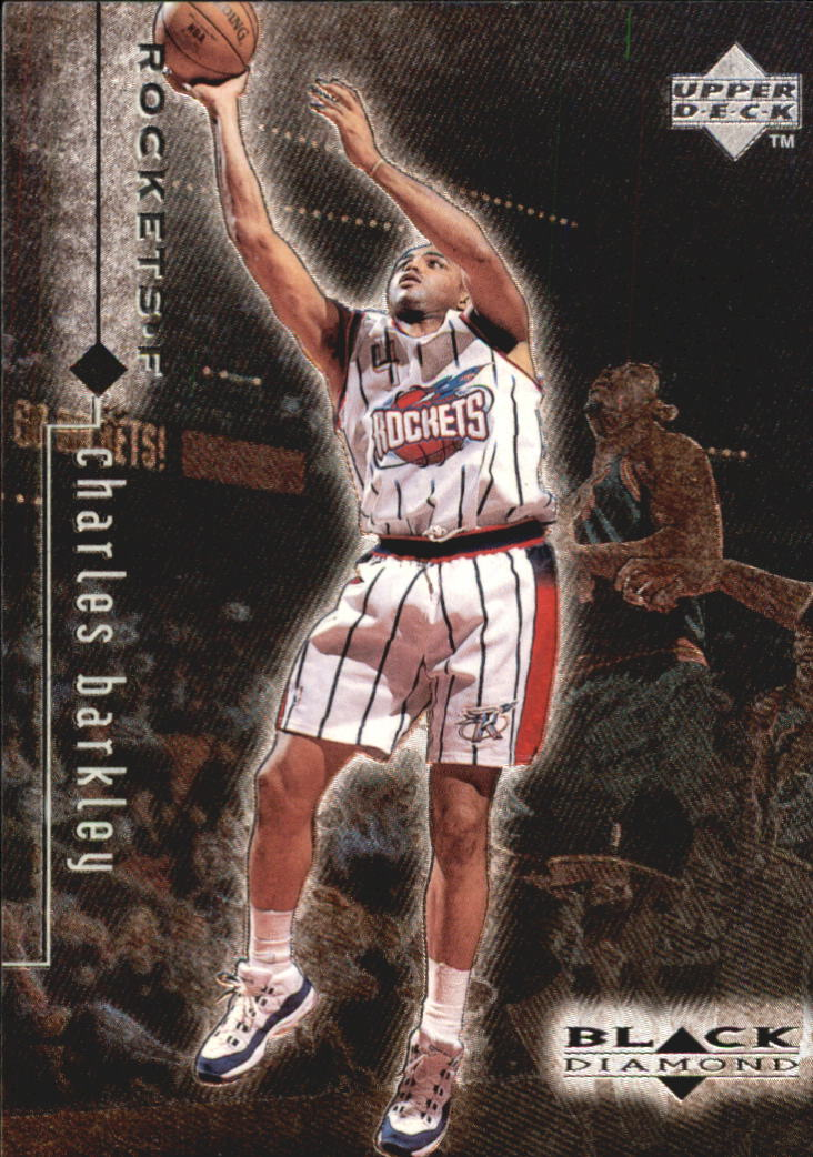 1998-99 Black Diamond #40 Charles Barkley