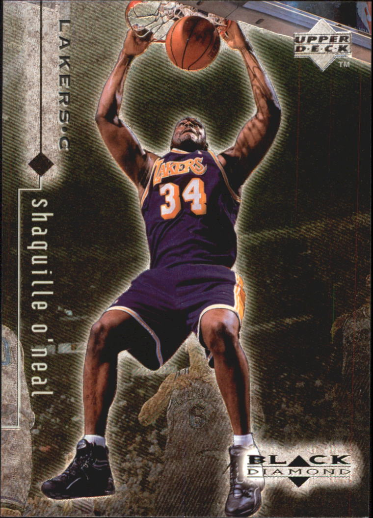 1998-99 Black Diamond #45 Shaquille O'Neal