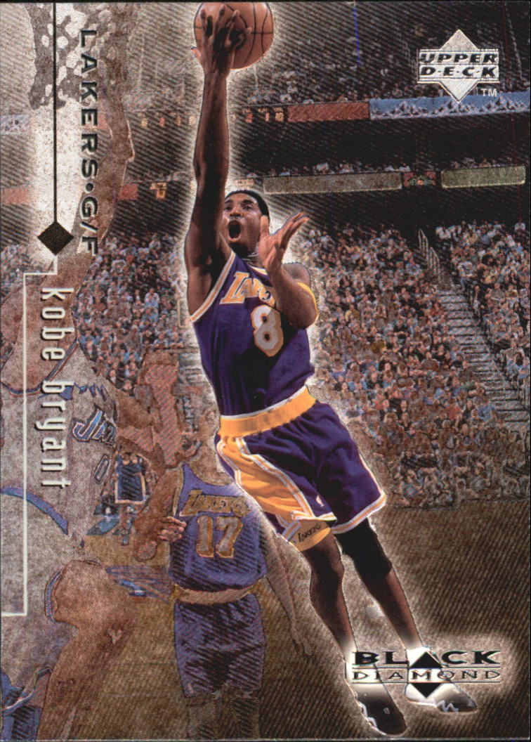 1998-99 Black Diamond #46 Kobe Bryant