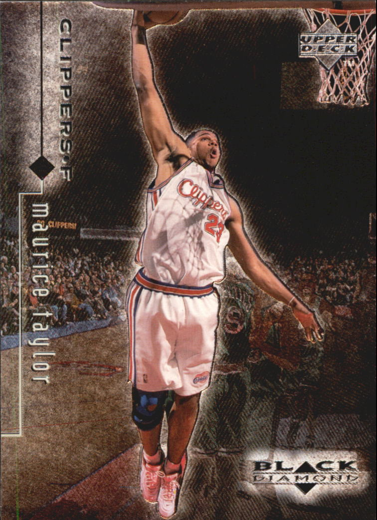 1998-99 Black Diamond #48 Maurice Taylor