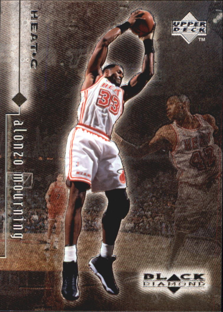 1998-99 Black Diamond #51 Alonzo Mourning
