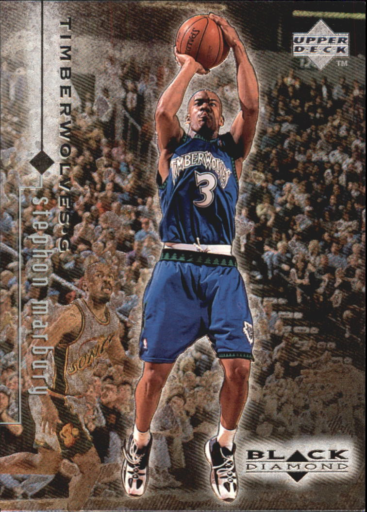 1998-99 Black Diamond #56 Stephon Marbury