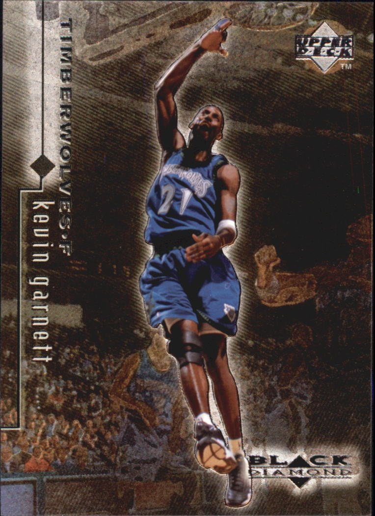 1998-99 Black Diamond #57 Kevin Garnett