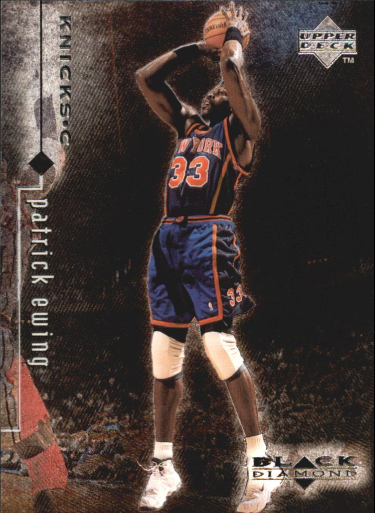 1998-99 Black Diamond #61 Patrick Ewing