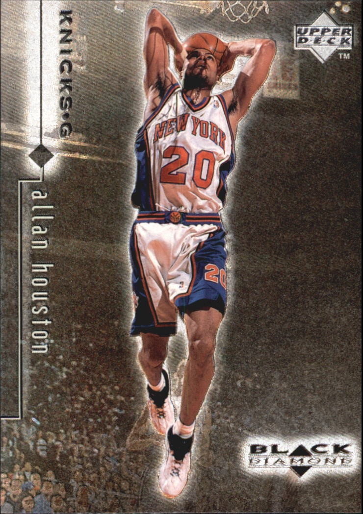 1998-99 Black Diamond #62 Allan Houston
