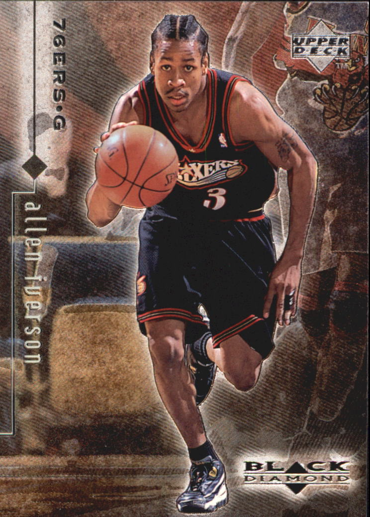 1998-99 Black Diamond #66 Allen Iverson