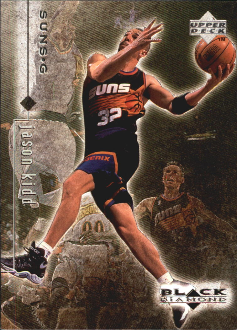 1998-99 Black Diamond #68 Jason Kidd